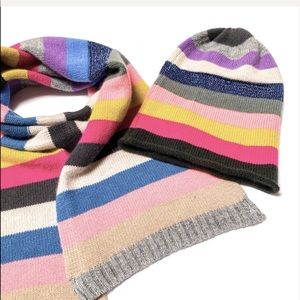 Allude cashmere beanie and scarf